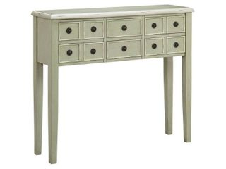 Chesapeake Sage Green Accent Chest   40  wide x 10  deep x 35  high