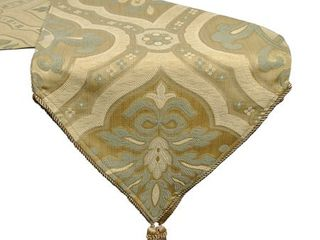 2 Sherry Kline Champlain Taupe Sage Table Runner