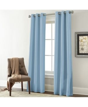 Amrapur Overseas Inc  Textured Curtain Panel  Set of 2