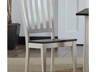 Simply Solid Tessa Solid Wood Dining Chairs   Set of 2   Traditional Nautical   Coastal Farmhouse