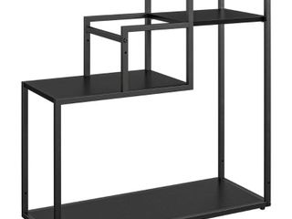 Novogratz Weston Plant Stand  Black Oak