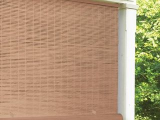 2  Radiance 72 inch length Woodgrain Outdoor PVC Shade