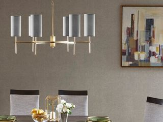 Chandelier Color Grey Gold Size See below