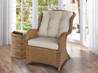Bay Breeze Indoor Outdoor Rattan Chair  Retail 397 99