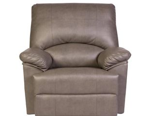Reynolds Massage Recliner Gray   Relaxzen