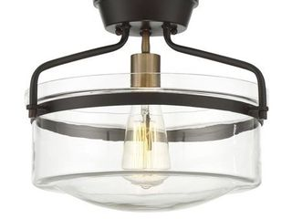 Trade Winds Gardner Ceiling light in Oil Rubbed Bronze