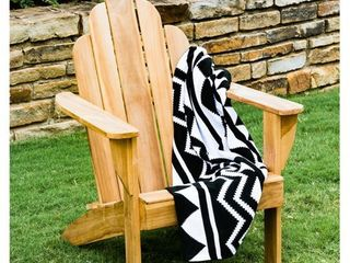 Cambridge Casual Sherwood Teak Adirondack Chair  Retail 152 99