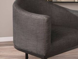 Carson Carrington Ekero Upholstered Barrel Accent Chair  Retail 170 99