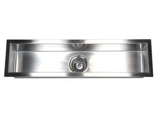 Contempo living Inc Stainless Steel Undermount Kitchen Prep Bar Sink