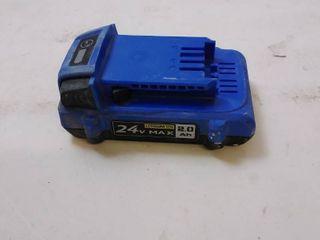 Kobalt 24 volt Max 2 00 amp hour lithium power tool battery