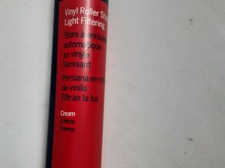 levolor Vynl Roller Shade Cream