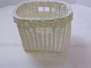 Wicker Basket Small 6 1 2 in  wide 5 1 2 in  Deep