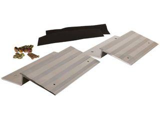 CargoSmart 12 in  Aluminum Ramp Plate Kit  Box of 2