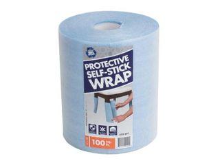 Pratt Retail Specialties 12 in  x 100 ft  Self Stick Furniture Foam Wrap