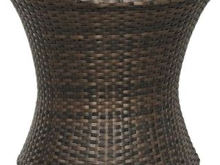 Round Outdoor Patio Side Table