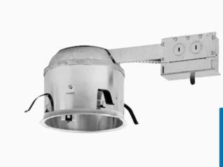Remodel Airtight IC Shallow Recessed light Housing