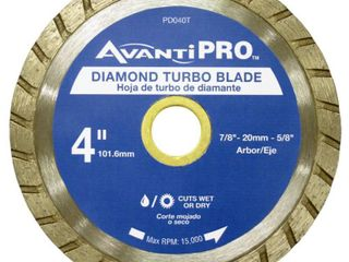 Avanti Pro 4 in  Turbo Diamond Blade 3 BlADES