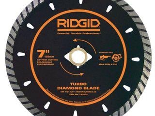 RIDGID 7 in  Turbo Diamond Blade