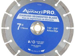 Avanti Pro 7 in  Segmented Diamond Blade