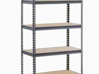 edsal Muscle Rack 18 in D x 36 in W x 72 in H 5 Tier Steel Utility Freestanding Shelving Unit