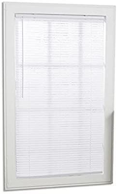 Project Source 1 in Cordless White Mini blinds Common  31 in  Actual  30 5 in