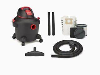 Shop vac 6 gallon 3 5 hp Portable Wet dry Shop Vacuum
