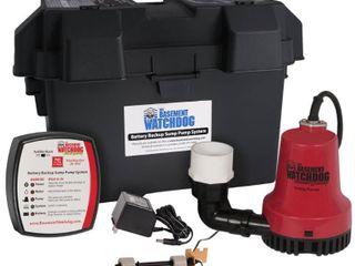 Basement Watchdog BWE 1000 Gallons Per Hour Basement Watchdog Emergency Back Up Sump Pump