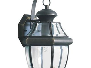 Forte lighting 1201 01 Outdoor Wall Sconce From The Exterior lighting Collection