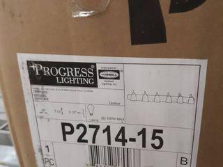 Progress lighting P2714 15 Six light Bath