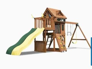 Gorilla Playsets Captains Fort Residential Wood Playset Retails  1499 00