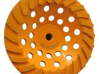 RIDGID 7 in  24 Segment Turbo Cup Grinding Wheel