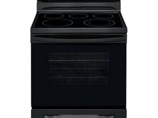30 in  5 3 cu  ft  Gas Range with Manual Clean in Black