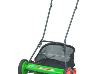 Scotts 20 in  Manual Walk Behind Reel Mower with Grass Catcher