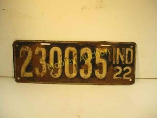 1000s OF ANTIQUE LICENSE PLATES 60YRS COLLECTION
