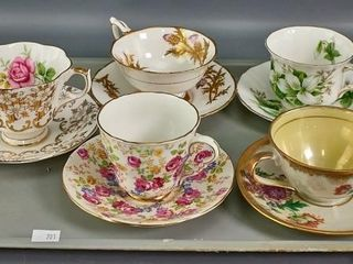 5 cups   saucers