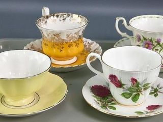 4 Cups   saucers