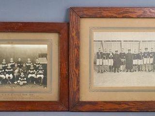 Early Team Sport Photographs
