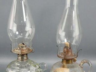 2 Finger Oil lamps