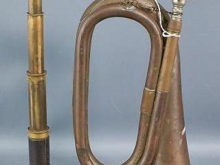 Bugle Horn and Telescope
