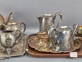 Silver Plate Tea Wares
