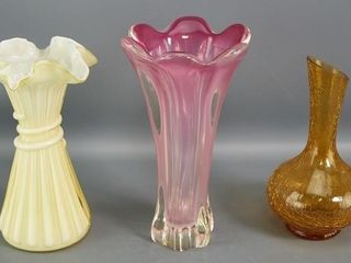 Vases etc