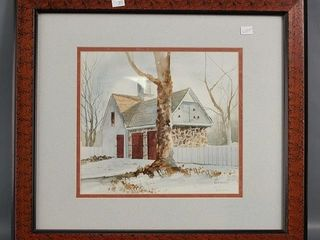 The Carriage House  Print by David Nichols