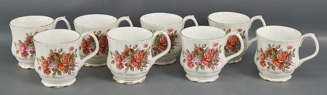 Royal Albert  Cenntenial Rose  mugs