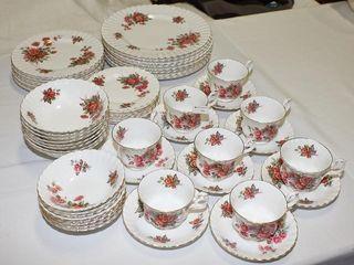 Royal Albert  Centennial Rose  Dinner service