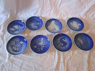 DENMARK MOTHERS DAY PlATES