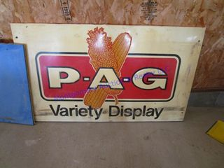 METAl P  A  G SEED SIGN