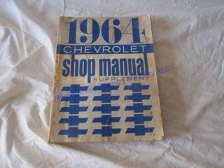 1964 CHEVY SHOP MANUAl