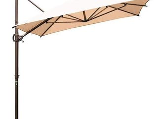 Grand Patio Aluminum Patio Cantilever Umbrella with Base Retail 617 99