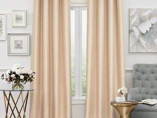 Eclipse luxor Thermalayer Blackout Window Curtain Panel 2 Panels 52 x 95