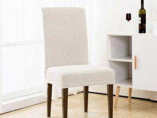 Enova Home Rhombus Jacquard Stretchy Universal Dining Chair Slipcovers